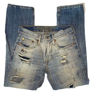 AEO 26/28 Vintage Collection High Distressed Jeans